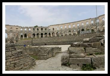 Arena-Anfiteatro romano Pula Croácia