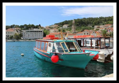 Barcos em Hvar