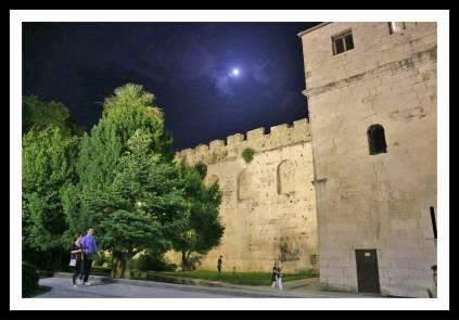 Muro do Palácio Diocleciano