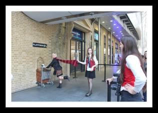 Local para fotos do Harry Potter