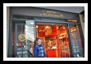 Loja do Harry Potter na estação St Pancras / King Cross