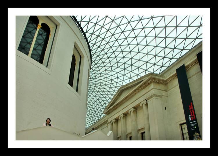 museu britanico teto