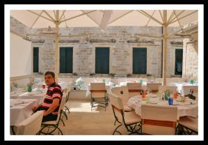 """Terrace"" do restaurante Proto em Dubrovnik"