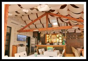 """Continuação do """"terrace"""" do restaurante Proto em Dubrovnik"""