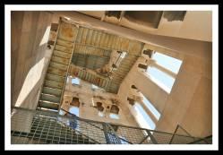 Escadas da Torre do Sino em Split, no Palácio Diocleciano: segurança...