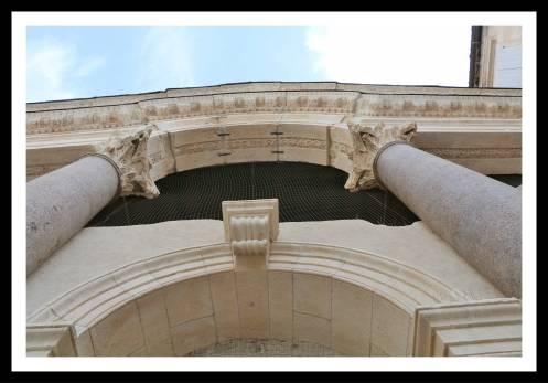Detalhe da entrada do Vestíbulo