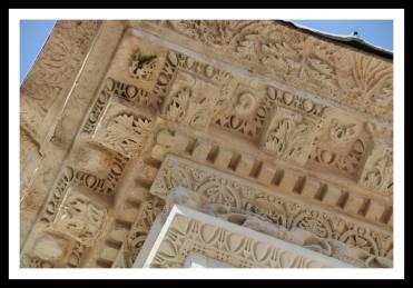 Mais um pouco de detalhes do teto esculpido