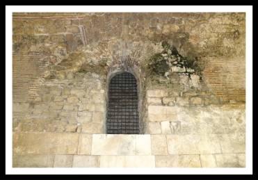 Detalhe do subterrâneo do Palácio Diocleciano