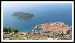 Dubrovnik já no fim de junho: muito sol e calor