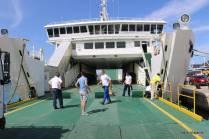 Preparação do ferry boat