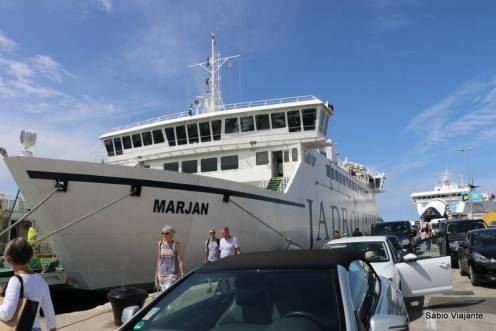Ferry boat Jadrolinija: Split a Hvar