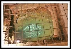 Poço localizado nas catacumbas