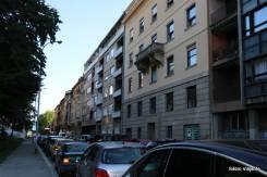 Prédios baixos em Zagreb