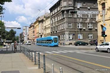 Tram: transporte público em Zagreb