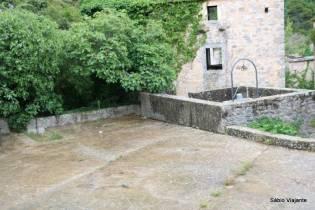 Sistema de coleta de água de chuva em Hvar
