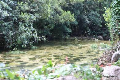 O rio garantia as brisas frescas durante o almoço