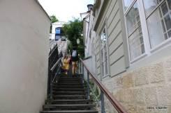 Quem quiser pode ir de escada...