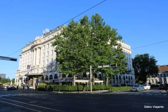 Hotel Esplanade em Zagreb