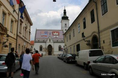 A inconfundível Igreja de São Marcos: um símbolo da Croácia