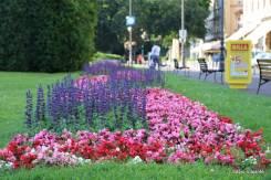 Muitas flores, cores e capricho nos jardins do Teatro Nacional de Zagreb