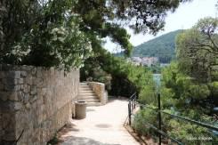 Mais um pouco de Lapad para mostrar que Dubrovnik não se resume apenas à cidade velha: muita tranquilidade, sol e mar!