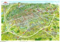 Visão geral de Zagreb