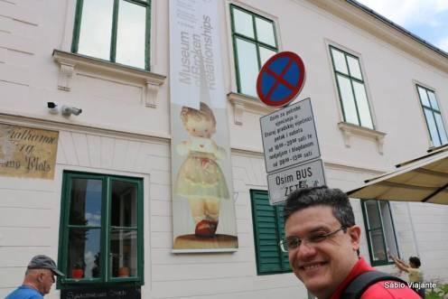 Museu do fim dos Relacionamentos em Zagreb - Croácia