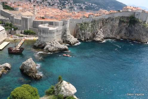 Desafio vocês a esquecer esta imagem: Dubrovnik vista do Forte Lovrijenac. Foto sem tratamento... rs