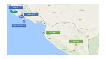 Roteiro de viagem com um pouco de sul da Croácia: Cavtat e Konavle