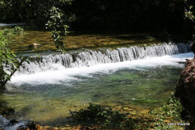 Ar condicionado natural: o rio trazia uma brisa fresca para aplacar o calor do verão da Croácia