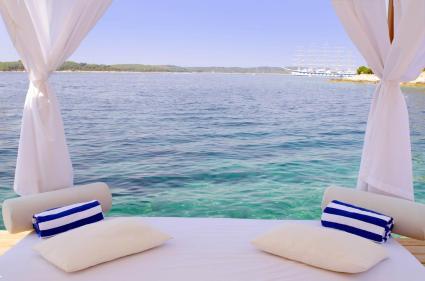 Imagina deitar e relaxar com essa vista linda?