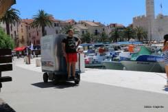 Carrinhos para transporte de mercadorias: motorizados e práticos