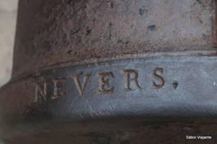 Outra inscrição no canhão