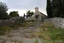 Esta antiga capela fica próxima ao forte
