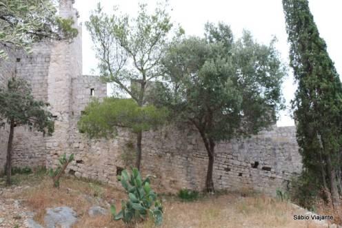 A muralha da fortaleza