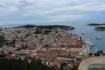 Vista da Riva (orla marítima) e Hvar Town