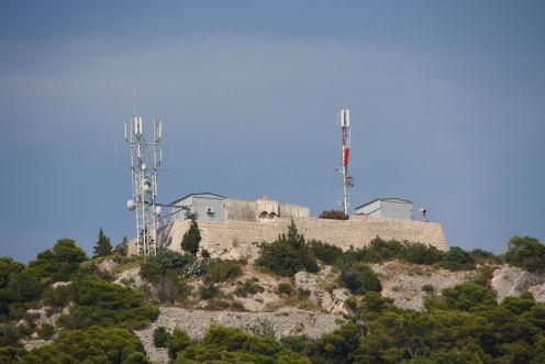 Forte de Napoleão é hoje o Observatório de Hvar