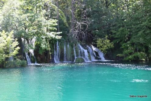 Muitas cachoeiras...