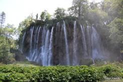 Cachoeiras no Lago Galovac