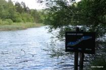Lago Gradisnko: um dos primeiros lagos após o passeio de barco