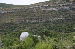 Uma das lentes do observatório de Hvar