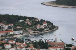 Riva de Hvar vista do Forte de Napoleão
