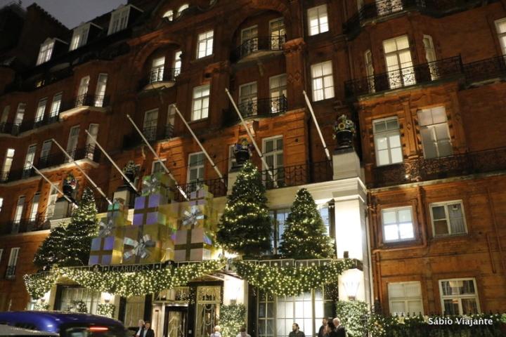 fachada claridges londres natal